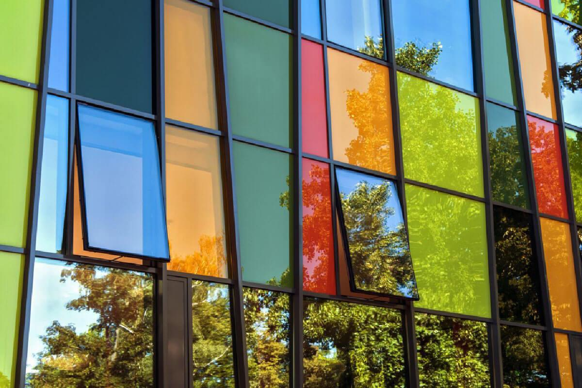 Coloured Aluminium Windows Derbyshire